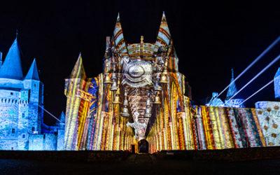Le voyage de Vitré Lumières : nouveau Son et lumières du Château de Vitré