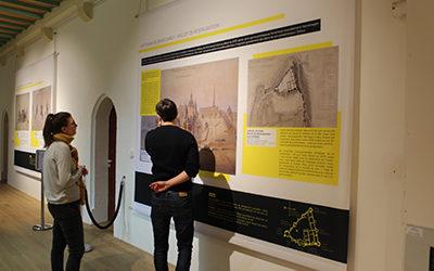 La restauration du château de Vitré a son exposition